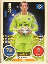 Match Attax 2016/17 Bundesliga - #127 Rene Adler - Hamburger SV