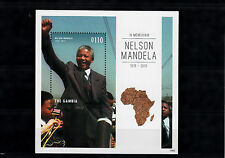Gambia 2013 MNH Nelson Mandela In Memoriam 1918-2013 II 1v S/S Death People