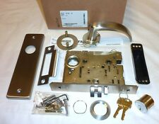 Falcon MA161 QN 630 Mortise Exit Connecting Lock Commercial, Grade 1 STAINLESS