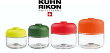 KUHN RIKON Storage container 4 Set Made of Glass stackable NIP
