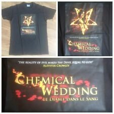 T shirt - Chemical Wedding - Bruce Dickinson - Iron Maiden - Taille L