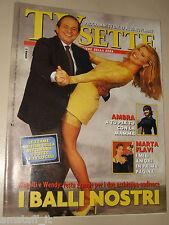 TV SETTE=1995/46=WENDY WINDHAM=MAGALLI=SAMANTHA DE GRENET=AMBRA ANGIOLINI=FLAVI=