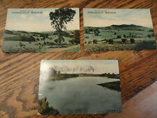 3 Old Springfield, MO Postcards - Country views