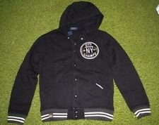 "(XL) POLO-RALPH LAUREN Black ""BROOKLYN CITY CHAMPS"" Fleece Jacket (Hoodie)"