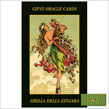 Gypsy Oracle Fortune Telling 52 Cards Deck with Multilingual Instructions