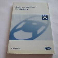Ford Galaxy I WGR Betriebsanleitung 2005 Bedienungsanleitung 2,0 2,3 2,8 V6 TDI