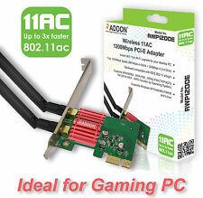 Addon AWP1200E Wireless AC Dual Band 1200Mbps PCI-E Adapter WiFi 802.11ac