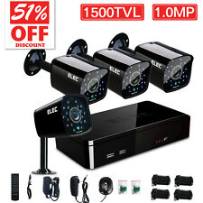 4CH 960H HDMI DVR 1500TVL Outdoor CCTV Video Security Camera System Night Vision