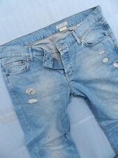 H&M Jeans Hose BOYFRIEND Super Optik Gr.42 44 W32 L34 *TOP*