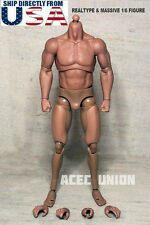 1/6 Scale Emulated Muscular Body GangHood 1.0 For Arnold Wolverine Hot Toys USA