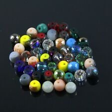 60pcs 8mm 128 faces drum type Swarovski crystal bead B Multi-colored