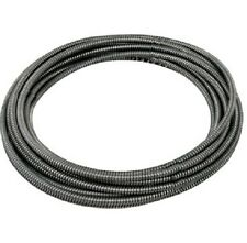 "General Pipe Cleaners Drain Cleaning Pipe Replacement Cable 1/4"" x 25' #25HE1"