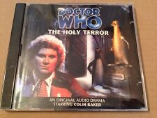 Doctor Who - The Holy Terror Audio Book 2x Cd's Colin Baker Robert Jezek DELETED