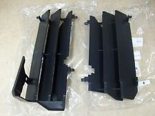 2 NEW OEM SUZUKI RADIATOR GUARDS LOUVERS COVERS RMZ450 RMZ 450 RM-Z450 2005 2006