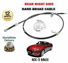 FOR MAZDA MX5 MX-5 1.8 2.0 MK3 2005--  NEW REAR RIGHT SIDE HAND BRAKE CABLE