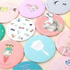 Korean cute Sweet Lovely Small Portable Woman Mirror Cosmetic Round Mirror