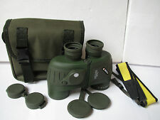 Waterproof  10x50 Marine Floating Binoculars with RangeFinder&Compass scope