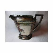 Colonial Silverplate Co LARGE COFEE TEA POT pitcher marked vtg antique 1756