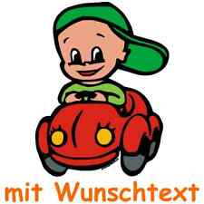 Bunte Babyaufkleber Baby on board Sticker Kinder 145