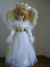 "Heritage Signature Collection  19"" 2006 Angel Ann Marie Porcelain Doll 80031 NEW"