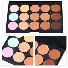 Fashion Makeup Palette Salon Party Concealer Contour Face Cream 15 Color UA EA