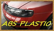 SEAT LEON 1/TOLEDO2 EYEBROWS,EYELIDS, ABS PLASTIC NEW TUNING