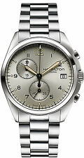 WATCH HAMILTON H76512155 PILOT PIONEER QUARTZ KHAKI AVIATION STEEL CHRONO