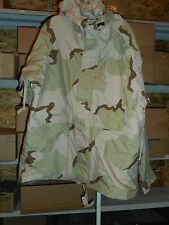 COLD WEATHER DESERT CAMOUFLAGE PARKA AND TROUSERS,  LARGE REG NEW