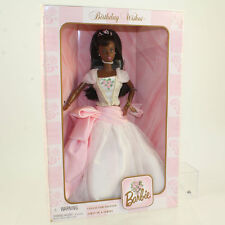 Mattel - Barbie Doll - 1998 Birthday Wishes Barbie (African American) *NM BOX*