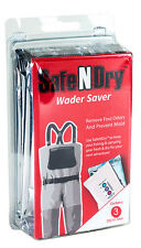 SafeNDry Wader or Boot Saver Plus 200 gr. Bags - Prevents Moisture Damage Odors!