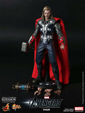"Sideshow Hot Toys 1/6 Scale 12"" Movie Masterpiece The Avengers Thor MMS175"