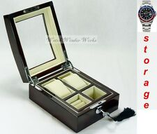 Luxury Display Watch/Jewellery storage Box for 2 watches-Watchpro-2RC-Combo