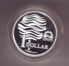 1993 $1 Silver Proof Coin Landcare Water Australia *
