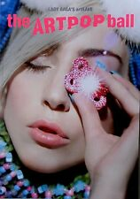 LADY GAGA * ARTRAVE - THE ARTPOP BALL TOUR PROGRAMME w/ FLYERS * BN! * APPLAUSE