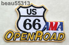 AMA AMERICAN MOTORCYCLE ASSOCIATION US ROUTE 66 OPEN ROAD VEST JACKET PATCH