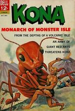 KONA #7 Good, Monarch of Monster Isle, Dell Comics 1963