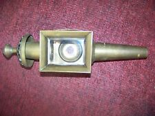 Antique brass buggy carriage automobile candle lamp lantern