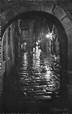 BR29040 Rua del Villar de noche Santiago de Compostela Calle spain