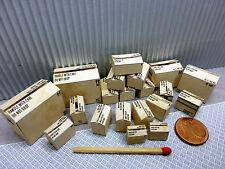 """20 Kartons """"ohne Logos"""" in 1:24-1:25 für Diorama, Slotbahn, Ladegut, Werkstatt"""