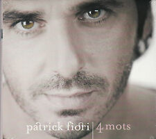 CD DIGIPACK 15T PATRICK FIORI 4 MOTS BEST OF EDITION LIMITEE NEUF SCELLE 2012