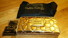 SOLD OUT Hello Kitty Con Loungefly Exclusive Limited Edition 71/200 Gold Wallet