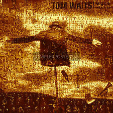 LARGE MOSAIC PHOTO POSTER IN VARIOUS COLOURS OF TOM WAITS No 22