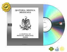 a manual of Mexican medicinal herbs Book On CD