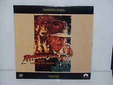 INDIANA JONES TEMPLE OF DOOM WIDESCREEN EDITION LASER DISC 1992 PARAMOUNT