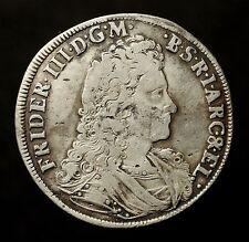 Kfsm. Brandenburg-Preußen, Friedrich III., 2/3 Taler 1694 WH Emmerich