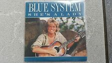 Blue System (Dieter Bohlen) - She's a lady 7'' Single SPAIN (Modern Talking)