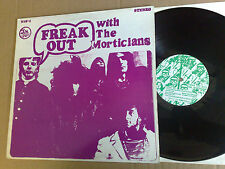 FREAK OUT WITH  THE MORTICIANS TIN SOLDIER RECORDS TIN - 1 LP PURPLE COVER