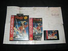 Pirates Gold for Sega Genesis.Complete in Box-with map. Clean/Tested. Rare. RPG