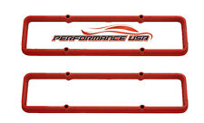 Small Block Chevy Orange Valve Cover Spacers