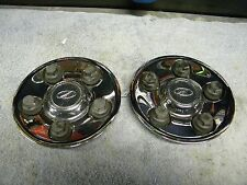 1998 - 2002 Oldsmobile Intrigue Wheel Center Caps - -1 pr - Chrome